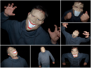 Collection of low-poly papercraft masks.